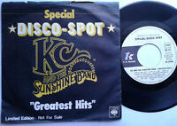 "KC And The Sunshine Band / Greatest Hits / Disco Spot 7"" Vinyl Single Promo 1980"