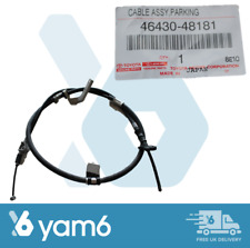 GENUINE LH PARKING BRAKE CABLE FITS LEXUS RX400H 46430-48181, 4643048181