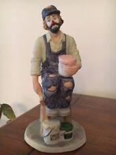 """Emmett Kelly, Jr. Porcelain """"PAINTER"""", Full size, SIGNED BY EKJ"""