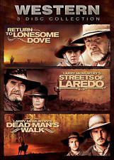 Western 3 Disc Collection: Return to Lonesome Dove/Streets of Loredo/Dead...