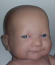 Berenguer Vinyl For Reborn 13 Inches Newborn Baby Doll Blue Eyes
