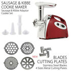 2800W Electric Meat Grinder Sausage Filler Stuffer Commercial Stainless Steel photo