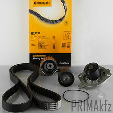 Conti Timing Belt Kit Water Pump Vectra C Astra H Zafira B 1.9 CDTI 100/120PS