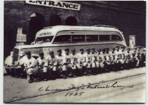 Pittsburgh Crawfords METAL baseball card - Negro League Baseball Team Photo 1935