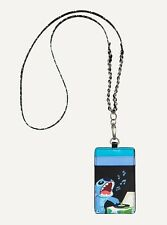 Disney Lilo And Stitch Record Player Lanyard! LARGE, LICENSED! FREE SHIPPING