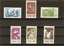 Briefmarken---DDR---1967-----Postfrisch----Mi 1286 - 1291----