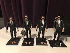 Reservoir Dogs Mezco Action Figures Lot Mr. Blonde/Pink/Orange/White- Loose