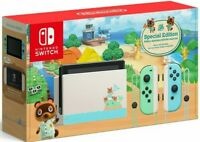 🎮 Animal Crossing: New Horizons Limited Edition Nintendo Switch Console IN HAND