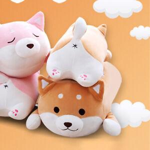 Cute Shiba Inu Corgi Plush Stuffed Dog Doll Animal Toy Soft Throw Cushion Pillow
