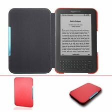 Ultra Slim leather Cover Case for Capa Amazon Kindle 3 3rd Gen Keyboard eReader