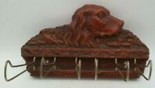VINTAGE 1957 MULTI PRODUCTS INC. TIE, BELT, SCARF WALL RACK BIRD DOG DUCK HUNTER