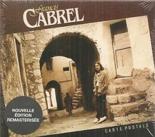 "CD ""FRANCIS CABREL CARTE POSTALE - neuf sous blister"