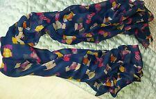 Blue scottie scarf/Pashmina