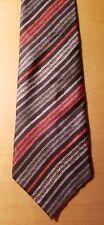 Vtg 1970s-80s Serica Italy Wide Silk Tie