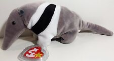 "TY Beanie Babies ""ANTS"" the ANTEATER - MWMTs! RETIRED! MUST HAVE! PERFECT GIFT!"