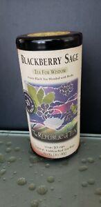 Blackberry Sage Tea The Republic of Tea 50 unbleached tea bag with Caffeine NEW