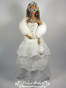 """OOAK handmade outfit for FR, Poppy Parker, NF, Silkstone and similar 12""""dolls"""