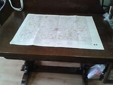 WW2 War Office map,document,Bedford,1940,history of England,Priory Country Park