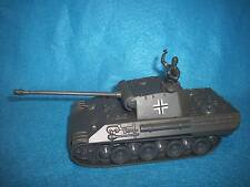 WWII German Panther tank toy soldier by Classic Toy Soldiers with commander gray