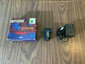 Nintendo Virtual Boy AC Adapter Set -- Complete in Box --