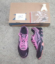 NEW MIZUNO WAVE KAZE 5 running track sprint spike shoes PURPLE pink 6.5