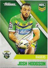 2017 NRL Traders Base Card (015) Josh HODGSON Raiders