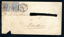 Netherlands - 1875 Cover from Utrecht to Emden, Germany
