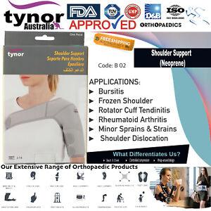 Tynor™ Neoprene Frozen Shoulder Support Bursitis Tendon Sprains Rotator Cuff Gym
