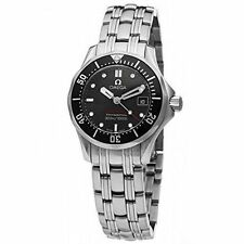 OMEGA Analogue Stainless Steel Band Wristwatches