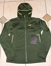 Arc'teryx Arenite Hoody Fleece Hooded Jacket Men's Large Anaconda Dark Green NEW