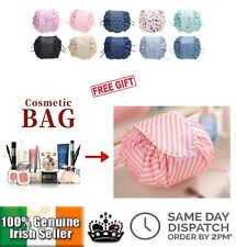Portable Drawstring Travel Cosmetic Storage Bag Make Up Case Magic Lazy Bags