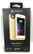 Mophie Juice Pack Air Protective Battery Case w/Wireless Power For iPhone 7,Gold