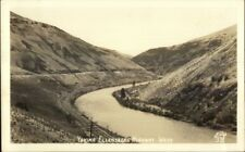 Yakima Ellensburg Highway WA Ellis #331 Real Photo Postcard