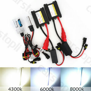Pair 35W 55W H3 HID Conversion Kit Xenon Replacement Bulb Ballast Headlight Lamp