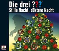 DIE DREI ??? - ADVENTSKALENDER: STILLE NACHT, DÜSTERE NACHT  3 CD NEW