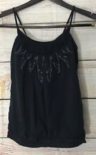 SILENCE + NOISE URBAN OUTFITTER tank casual Black Size M Stretch Blouson