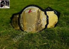 MLW National Championship Leather Belt