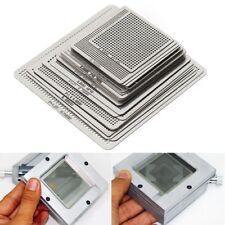 27Pcs BGA Reball Reballing Rework Net Universal Stencil Directly Heat Set Kit DH