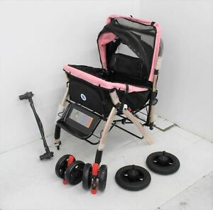 PET ROVER Outdoor Extra Long Premium Stroller Pram Buggy For Dogs & Cats NEW
