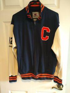 Colosseum Athletics  CHICAGO Jacket Size M  Sport Navy Blue Orange White