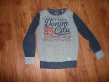 C&A Jungen-Pullover & -Strickwaren Größe 134 mit Rundhals-Ausschnitt