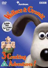 Wallace and Gromit: Three Cracking Adventures Dvd (2005) Nick Park cert U