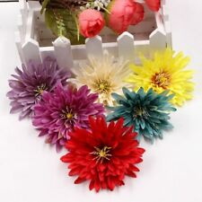 10pcs 7cm high quality rayon touch real flower clip box gift wreath DIY