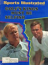 Jack Nicklaus  signed June 1, 1970 Sports Illustrated - Rare VG+