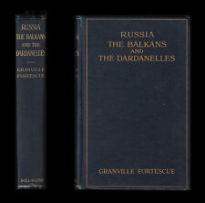 RUSSIA, THE BALKANS and the DARDANELLES - Warsaw POLAND Constantinople GALLIPOLI
