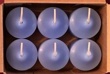 PartyLite Blueberry Wisteria Votive Candles V06668 New Fruit Floral Musk Retired