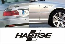 bmw hartge boot side decals fit 1,3,5,6,7 series x3 x5