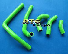 For HONDA CR250 CR250R 2002-2008 03 04 05 06 07 08 Silicone Radiator hose GREEN