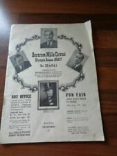 Circus/Fairground Collectable Memorabilia