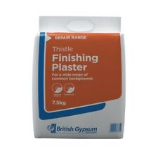 British Gypsum Artex Thistle Finishing Plaster Repair Plasterboard 7.5KG